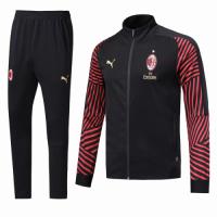 18-19 AC Milan Red&Black Training Kit(Jacket+Trouser)