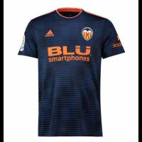 18-19 Valencia Away Navy Soccer Jersey Shirt