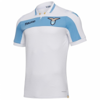 18-19 Lazio Away White Soccer Jersey Shirt