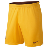 18-19 Roma Third Away Yellow Soccer Jersey Short