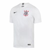 18-19 SC Corinthians Home White Jersey Shirt(Player Version)