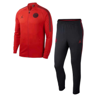 18-19 PSG JORDAN 3rd Away Red Training Kit(Jacket+Trousers)