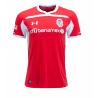 18-19 Deportivo Toluca Home Red Jersey Shirt