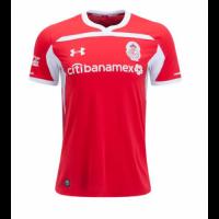 18-19 Deportivo Toluca Home Red Jersey Shirt