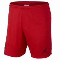 18-19 PSG JORDAN 3rd Away Goalkeeper Red Soccer Jersey Short
