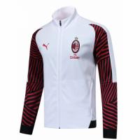 18-19 AC Milan Red&White Soccer Training Jacket