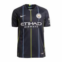 18-19 Manchester City Away Jersey Shirt(Player Version)