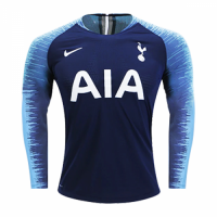 18-19 Tottenham Hotspur Away Navy Long Sleeve Jersey Shirt
