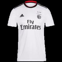 18-19 Benfica Away White Soccer Jersey Shirt