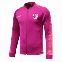 18-19 Barcelona Pink V-Neck Training Jacket