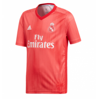 18-19 Real Madrid Third Away Red Soccer Jersey Shirt