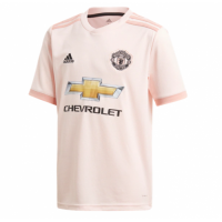 18-19 Manchester United Away Pink Jersey Shirt