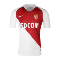 18-19 AS Monaco FC Home Soccer Jersey Shirt