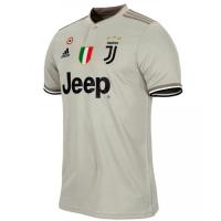 18-19 Juventus Away Gray Soccer Jersey Shirt