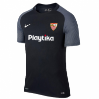 18-19 Sevilla Third Away Black Soccer Jersey Shirt