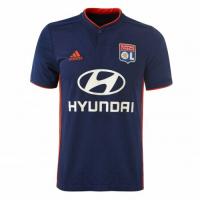 18-19 Olympique Lyonnais Away Navy Jersey Shirt