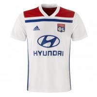 18-19 Olympique Lyonnais Home White Jersey Shirt
