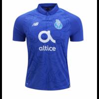 18-19 Porto Third Away Blue Soccer Jersey Shirt