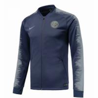 18-19 Inter Milan Gray V-Neck Training Jacket