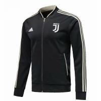 18-19 Juventus Black V-Neck Training Jacket