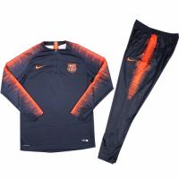 Kids 18-19 Barcelona Sweat Shirt Kit(Top+Trouser)