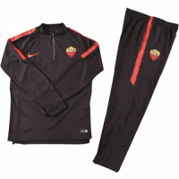 Kids 18-19 Roma Red Sweat Shirt Kit(Top+Trouser)