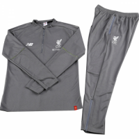 Kids 18-19 Liverpool Sweat Shirt Kit(Top+Trouser)