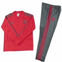 Kids 18-19 Bayern Munich Sweat Shirt Kit(Top+Trouser)
