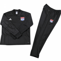 Kids 18-19 Olympique Lyonnais Sweat Shirt Kit(Top+Trouser)