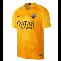 18-19 Roma Third Away Yellow Soccer Jersey Shirt