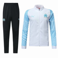 18-19 Marseilles Blue&White Training Kit(Jacket+Trouser)