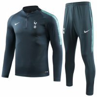18-19 Tottenham Hotspur Sweat Shirt Kit(Top+Trouser)