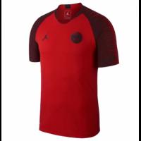 18-19 PSG JORDAN 3rd Away Red Training Jersey Shirt
