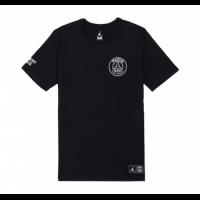 18-19 PSG X JORDAN LOGO T Shirt-Black