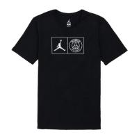 18-19 PSG X JORDAN Jock Tag T Shirt-Black