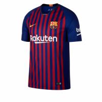 18-19 Barcelona Home Soccer Jersey Shirt(Player Version)