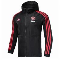 18-19 Manchester United Black Woven Windrunner