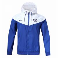 18-19 Chelsea Blue&White Woven Windrunner