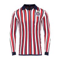 2018 Deportivo Guadalajara World Cup Red&White Long Sleeve Jersey Shirt