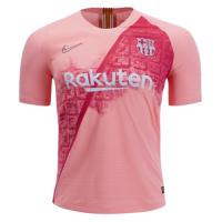 18-19 Barcelona Third Away Pink Soccer Jersey Shirt(Player Version)