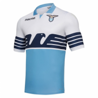 18-19 Lazio Home Blue&White Soccer Jersey Shirt