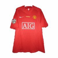 07-08 Manchester United Home Retro Jersey Shirt