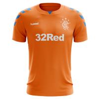18-19 Glasgow Rangers Third Away Orange Jersey Shirt