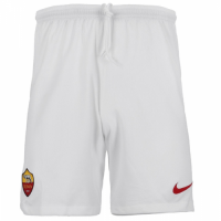 18-19 Roma Away Gray Soccer Jersey Short