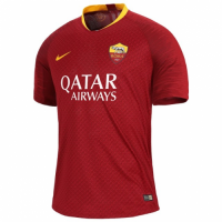 18-19 Roma Home Red Soccer Jersey Shirt(Player Version)