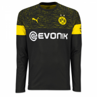 18-19 Borussia Dortmund Away Long Sleeve Jersey Shirt