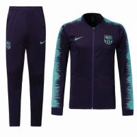 18-19 Barcelona Purple&Blue Training Kit(Jacket+Trouser)