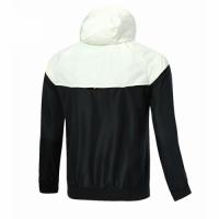 18-19 PSG Black&White Woven Windrunner