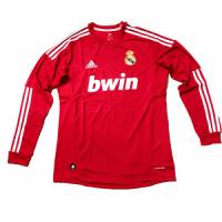 2012 Real Madrid Third Away Retro Long Sleeves Jersey Shirt