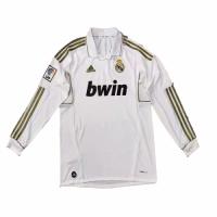 2012 Real Madrid Home Retro Long Sleeves Jersey Shirt